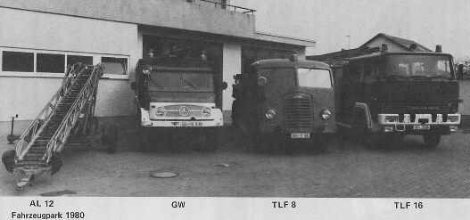 Fahrzeuge 1980